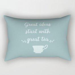 The Tea Lover I Rectangular Pillow