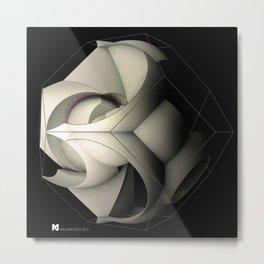 sphericalinversion_02_black Metal Print