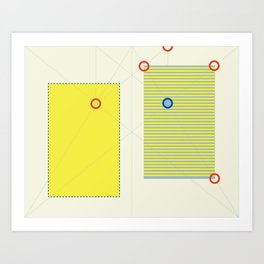 NonFunctional Grid 2 Art Print