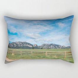 Eldorado Canyon Rectangular Pillow