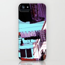Hanging Laundry pt1 iPhone Case