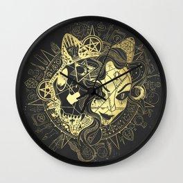 Vampiluna Wall Clock