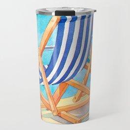 Beach Chairs 1 Travel Mug