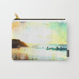 Sunset at Sandtracks Carry-All Pouch