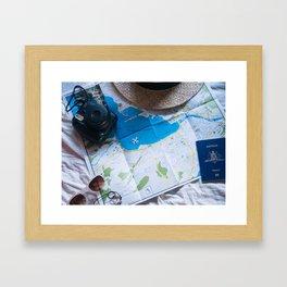 Wanderlust Art Print Framed Art Print