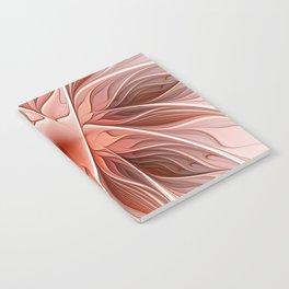 Flower Decoration, Abstract Fractal Art Notebook