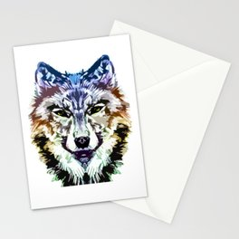 Wolf Icon 05 Stationery Cards