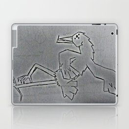 bird dancing Laptop & iPad Skin