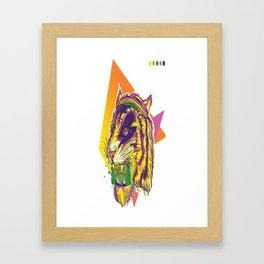 TIGER ROAR Framed Art Print