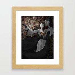 Music of the Night Framed Art Print