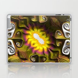 Gnarly Sunflower Laptop & iPad Skin