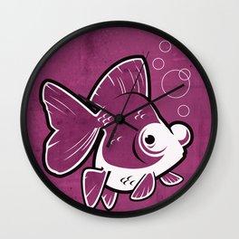 Moor Goldfish Wall Clock