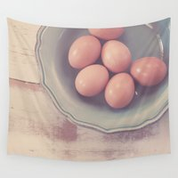 farm Wall Tapestries featuring Farm Fresh by Jessica Torres Photography