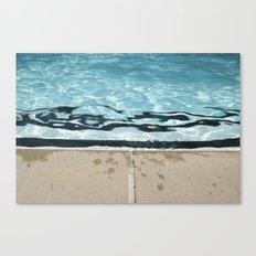 Jump Off The Ledge Canvas Print