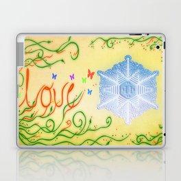 LOVE. Mensajes del agua Laptop & iPad Skin