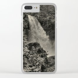 Sutherland Falls, BC - Waterfall Clear iPhone Case