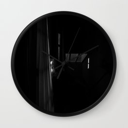 Somber Sunset Wall Clock