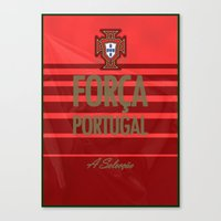 portugal Canvas Prints featuring Portugal by liamhohoho