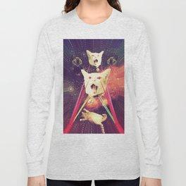 galactic Cats Saga 4 Long Sleeve T-shirt