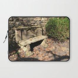 Concrete Bench Laptop Sleeve