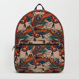 rooster ink beige Backpack