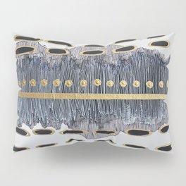 Linear Gold Pillow Sham