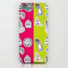 House Pattern Slim Case iPhone 6s