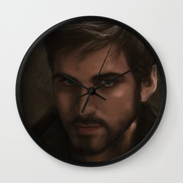 OUAT - Killian Jones - Captain Hook Wall Clock