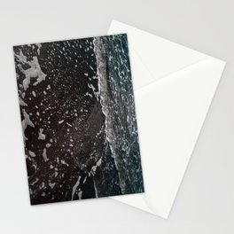 semi-neon ocean Stationery Cards