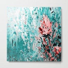 Floral Dream 2a by Kathy Morton Stanion Metal Print