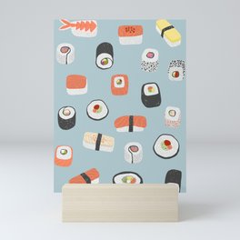 Sushi Roll Maki Nigiri Japanese Food Art Mini Art Print