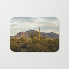 The Superstition Mountains Bath Mat