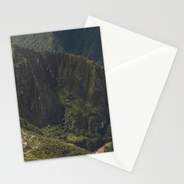 Lost Incan City Machu Picchu and Wayna Picchu Stationery Cards