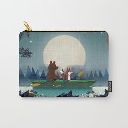 Bear and Fox Carry-All Pouch