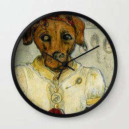 Dempsey Dog Wall Clock