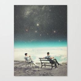 You Were There, in my Deepest Silence Canvas Print