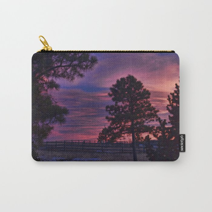 Behind The Sunset Carry-All Pouch