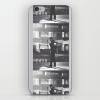 johnny cash iPhone & iPod Skins featuring Johnny Cash by Earl of Grey