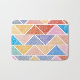 Colorful Triangle IV(Ranging Tribuj Char) Bath Mat