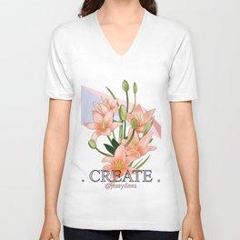 """CREATE"" Unisex V-Neck"