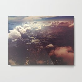 FLA from ABV Metal Print