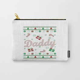 Daddy Christmas Carry-All Pouch