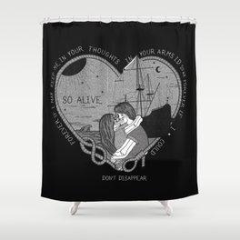 """So alive"" by Ryan Adams Shower Curtain"