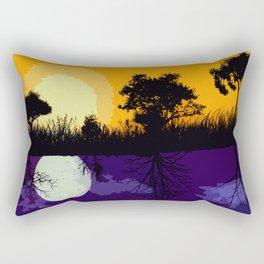 It's Not Always A Stark Contrast Rectangular Pillow