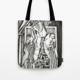 Rift in the house of Finwe Tote Bag