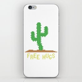 free hugs 2 iPhone Skin