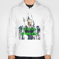 arrow Hoodies featuring Arrow by SwanniePhotoArt