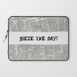 Seize the Day Laptop Sleeve