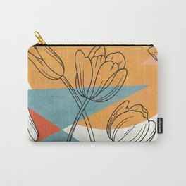 Vibrant Flower Design 1 Carry-All Pouch