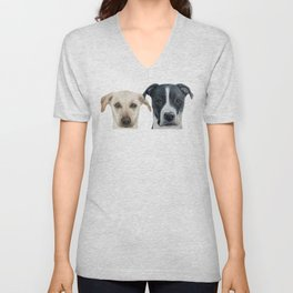 Dice and Maple by miart Unisex V-Neck